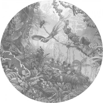 CK-081 Wallpaper Circle Tropical Landscapes