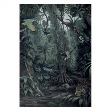 WP-600 Wall Mural Tropical Landscapes