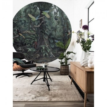 BC-072 Wallpaper Circle XL Tropical Landscapes