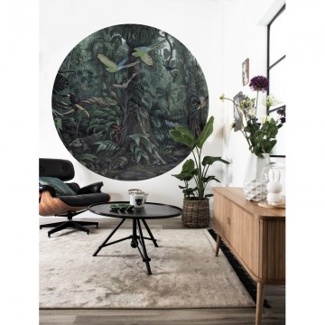 CK-072 Wallpaper Circle Tropical Landscapes