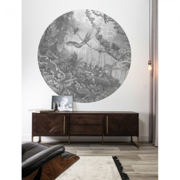 CK-081 Wallpaper Circle Tropical Landscapes