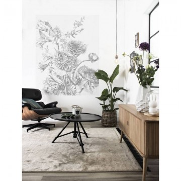 PA-013 Wall Mural Engraved Flowers