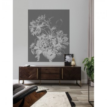 PA-032 Wall Mural Engraved Flowers