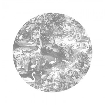 SC-045 Wallpaper Circle Engraved Landscapes