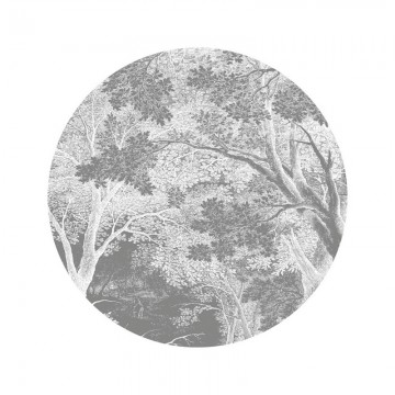 SC-052 Wallpaper Circle Engraved Landscapes