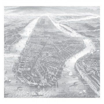WP-637 Wall Mural Engraved Landscapes