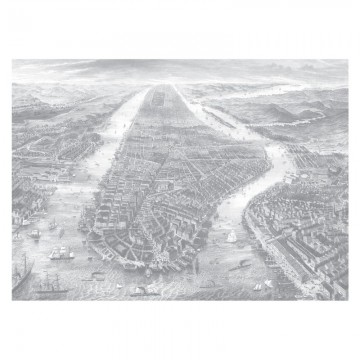WP-652 Wall Mural Engraved Landscapes