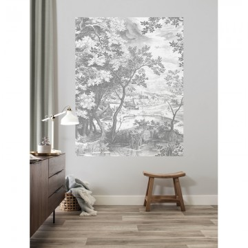 PA-031 Wallpaper Panel Engraved Landscapes