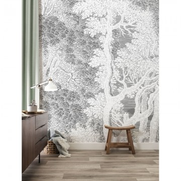 WP-625 Wall Mural Engraved Landscapes