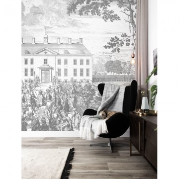 WP-627 Wall Mural Engraved Landscapes