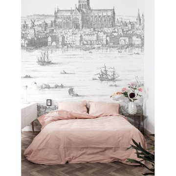 WP-639 Wall Mural Engraved Landscapes