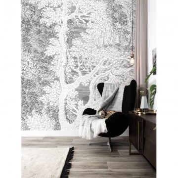 WP-640 Wall Mural Engraved Landscapes