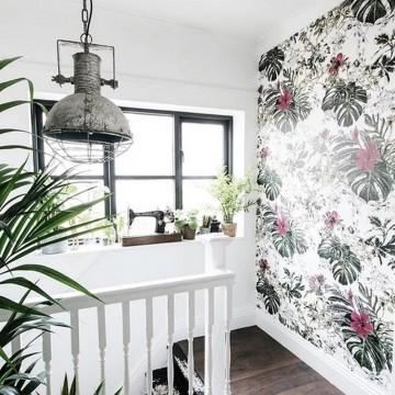 Classic Seasons Wallpaper Summer Tropical Bloom