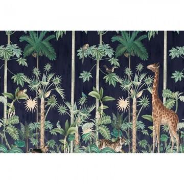 R16792 Giraffe's Stroll, Nightfall