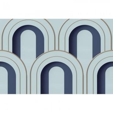 R16102 Arch Deco, Blue