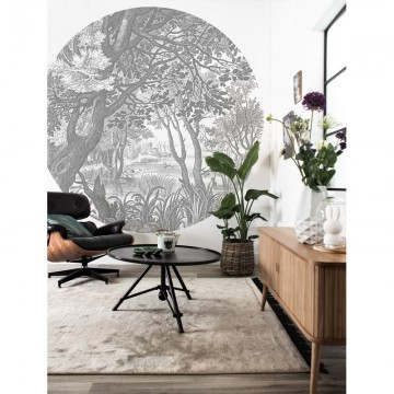 BC-044 Wallpaper Behangcirkel XL Engraved Landscapes