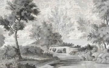 LE CHEMIN DES DEMOISELLES GRISAILLE PATINE XVIII