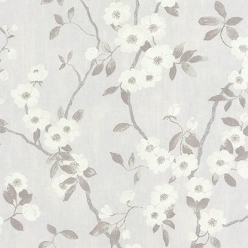 Delicacy Spring Flower Blanc Gris 85399171