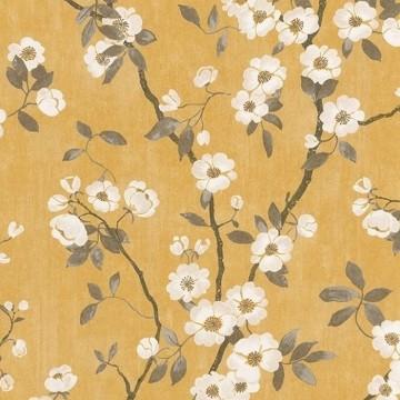 Delicacy Spring Flower Jaune Noir 85392403