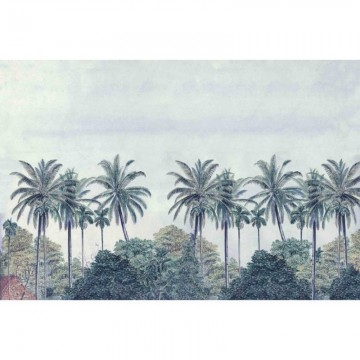PALM GROVE BLUE DOM310-1