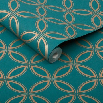 Eternity Teal and Copper 104068