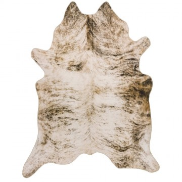TEXAS FAUX COWHIDE GREY