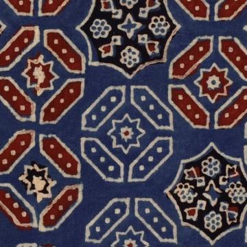 Ajrak Blue WP20412