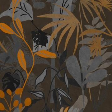 Caribbean Garden Dark WP20487