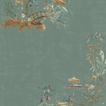 Chinoiserie Blue WP20437
