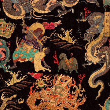 Dragons Of Tibet WP20425