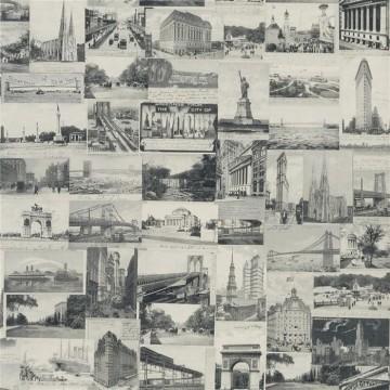New York Postcard Black PRL5000-04