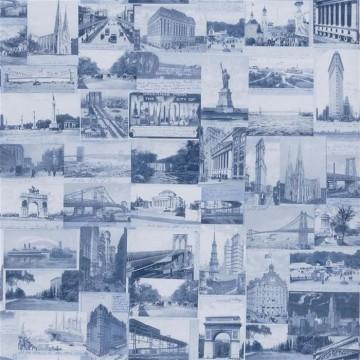 New York Postcard Indigo PRL5000-06