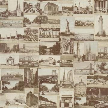 New York Postcard Sepia PRL5000-02