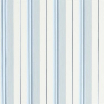 Aiden Stripe Teal Blue White PRL020-04