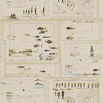 Captains Log Parchment PRL5025-02