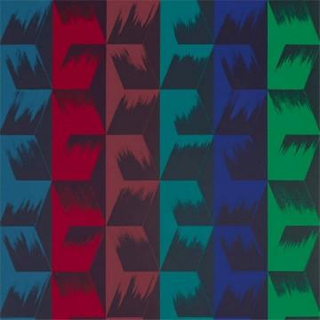Rhombi Stripe 333030