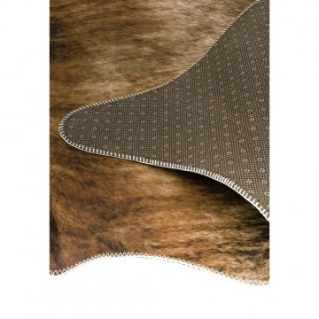 TEXAS FAUX COWHIDE BROWN