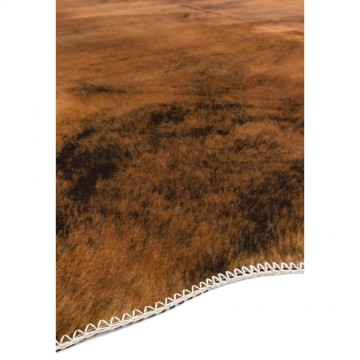 TEXAS FAUX COWHIDE CHESTNUT