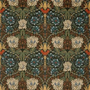 Honeysuckle and Tulip Velvet 236939