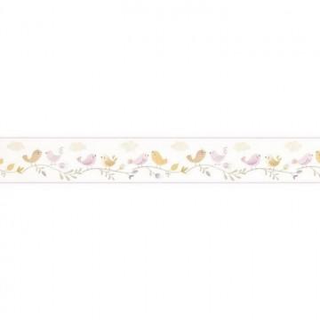 Frise Rose Parme Jaune 85596299