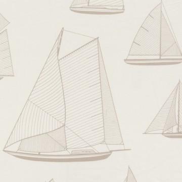 Tissu Armada Beige-Blanc RIVG84241107