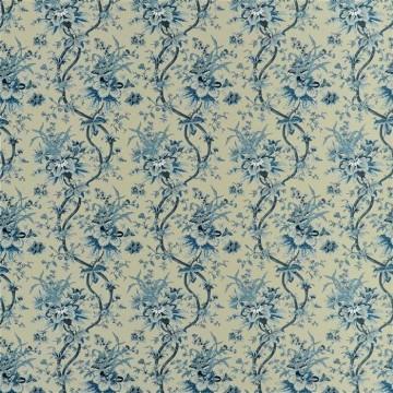 Yarmouth Floral Slate Blue FRL5112-02