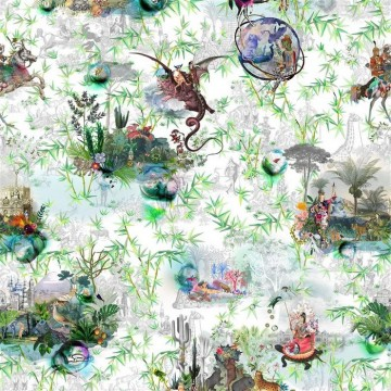 Reveries Vert Buis FL008-01