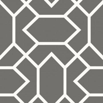 Autodhesivo Geometrico Gris Oscuro 127-RMK9069WP