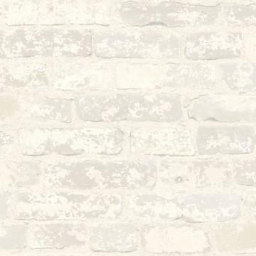 Autodhesivo Ladrillo Blanco 127-RMK9038WP