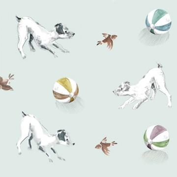 Playful Pets – Aqua Green