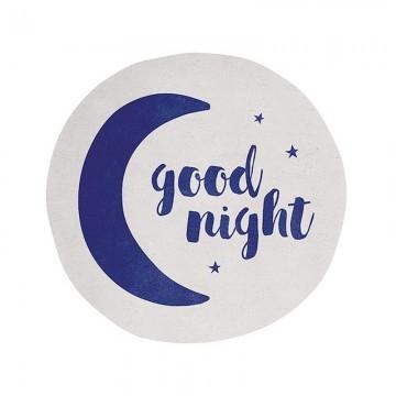 Alfombra circular Good night h0368