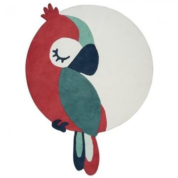Alfombra circular Tropica Perroquet Vert H0586