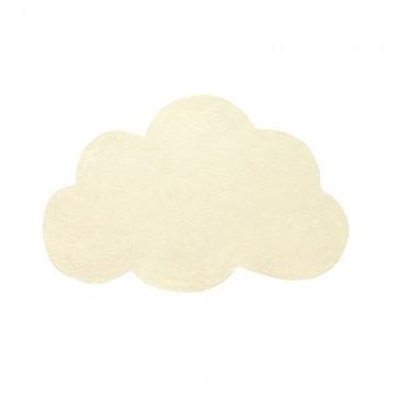 Alfombra Nube amarillo suave h0354