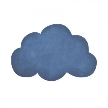 Alfombra Nube azul marino h0349